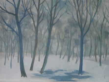 Forest Snow II (30x40)