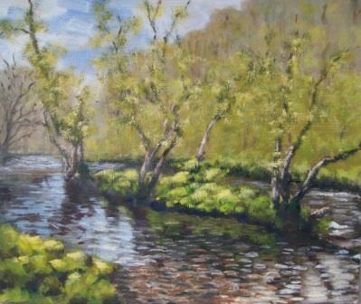 Dovedale, Spring (38x45)
