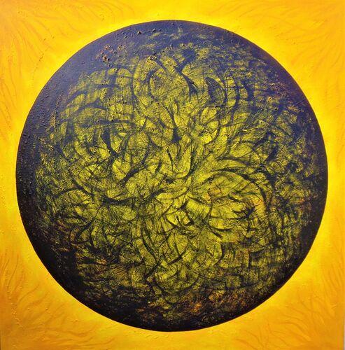 fusion art hydrogen atom science