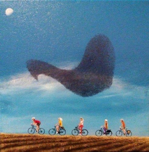 Murmuration of Cyclists
