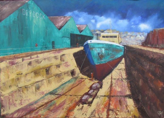 Dry dock, Penzance