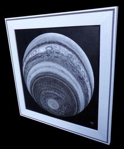 Jupiter in Monochrome