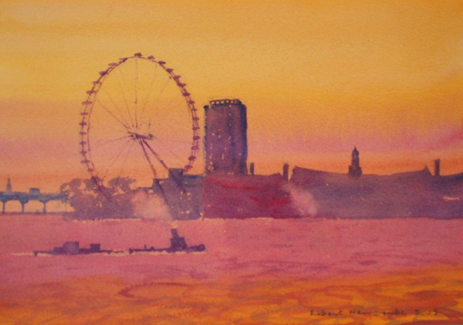 Twillight, London Eye