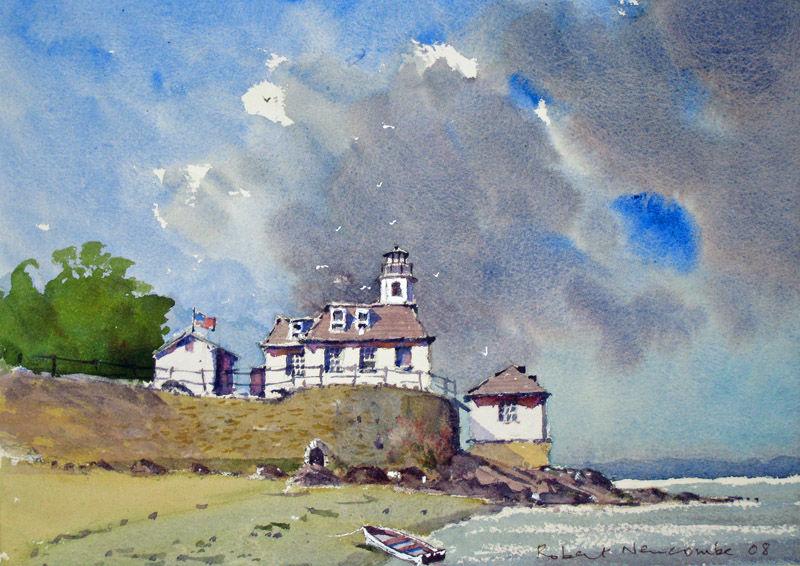 Rose Island Lighthouse, New England