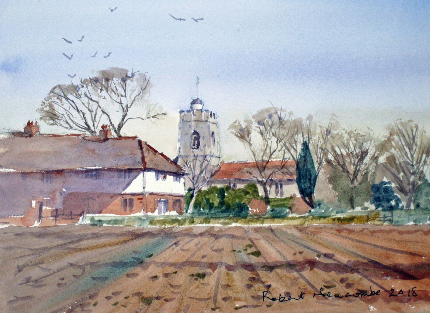 Church Weston Underwood Buckinghamshire