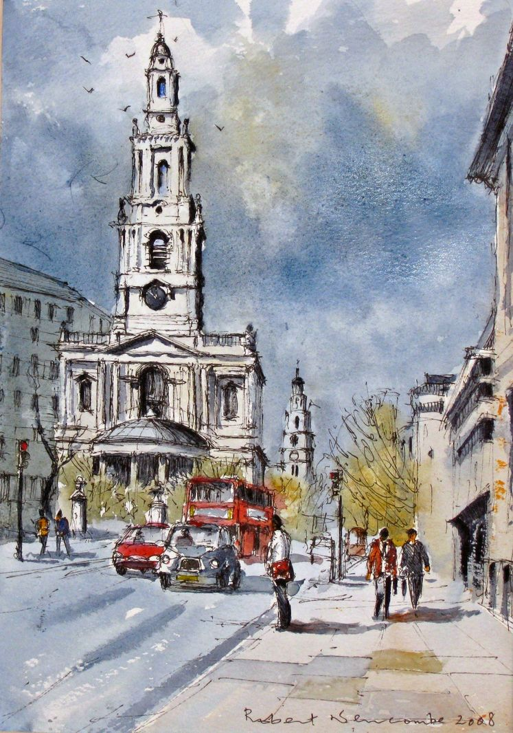Churches in the Strand, London