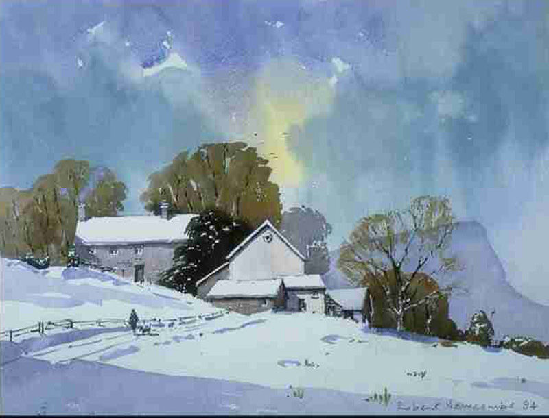 Skelgill Farm, Winter