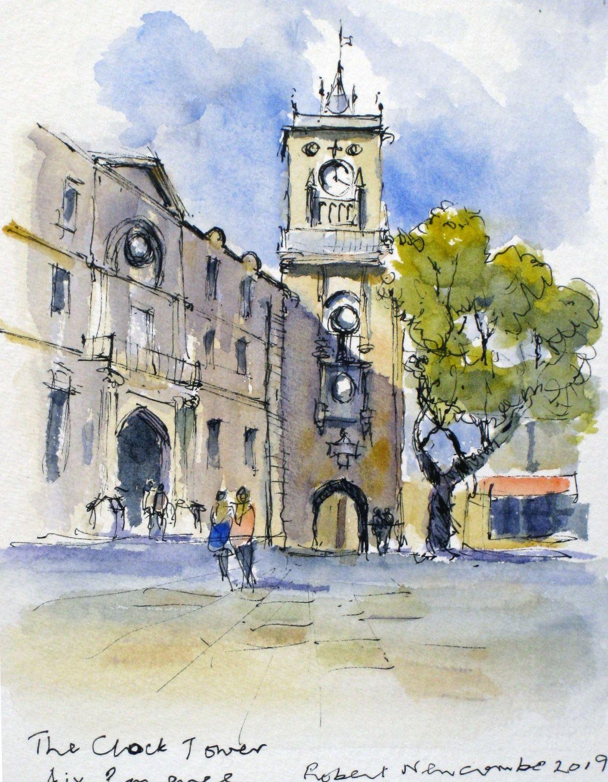 The Clock Tower, Aix en Provence
