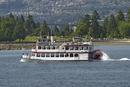Paddle steamer at Vancouver