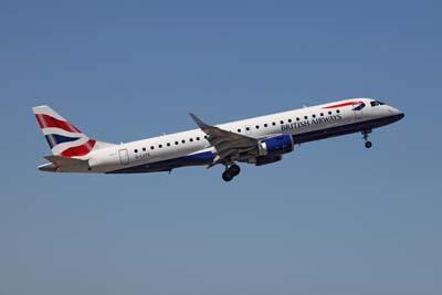 BA Embraer 190SJ