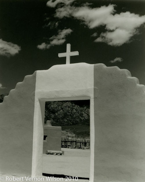 Entry to Taos