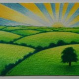 Sunrise. SOLD