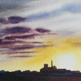 Bass Maltings Sunset. SOLD