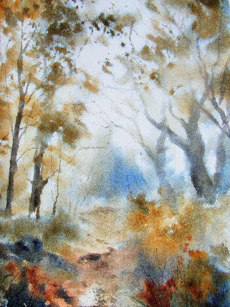 Autumn Woodland. SOLD