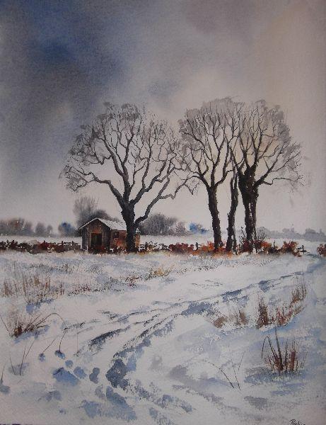 Snow - Mareham Pastures. Sold