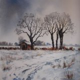 Snow - Mareham Pastures. Sold