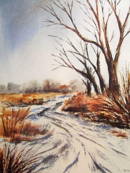 Snow - Mareham Pastures II.
