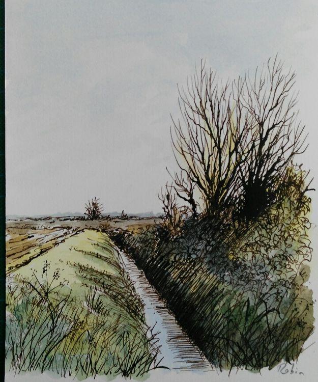 Stream near Sleaford