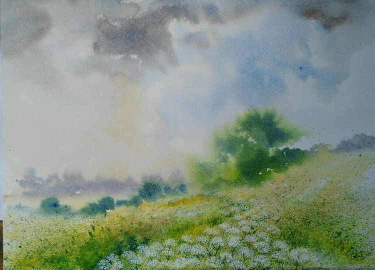 Drift of Cow Parsley SOLD