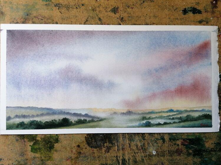 Misty Hedgerows