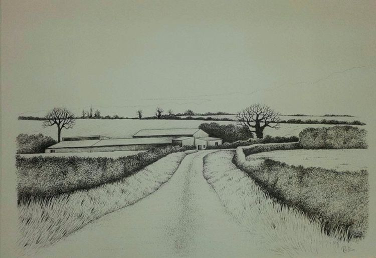 Road to Wilsford, Lincolnshire