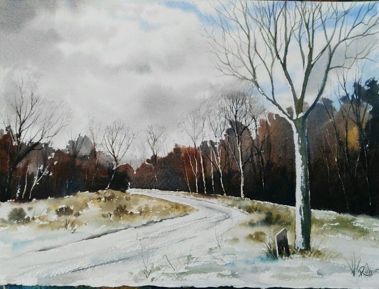 Winter, Mareham Pastures