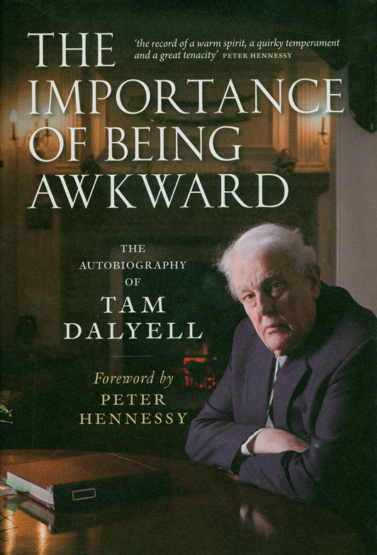 Tam Dalyell front cover