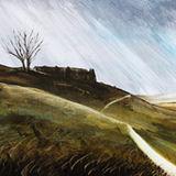 Acrylic on canvas 203 x 76cm (double canvas)