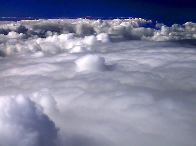 Clouds Below