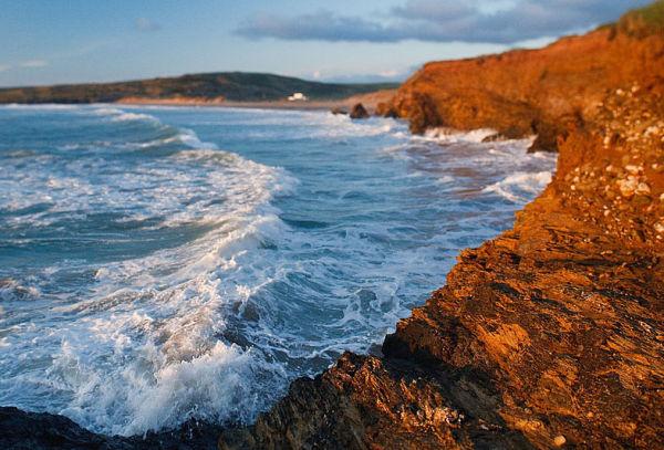 High Tide from Strap Rocks
