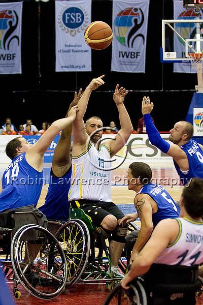 2010 World Wheelchair Basketball Finals