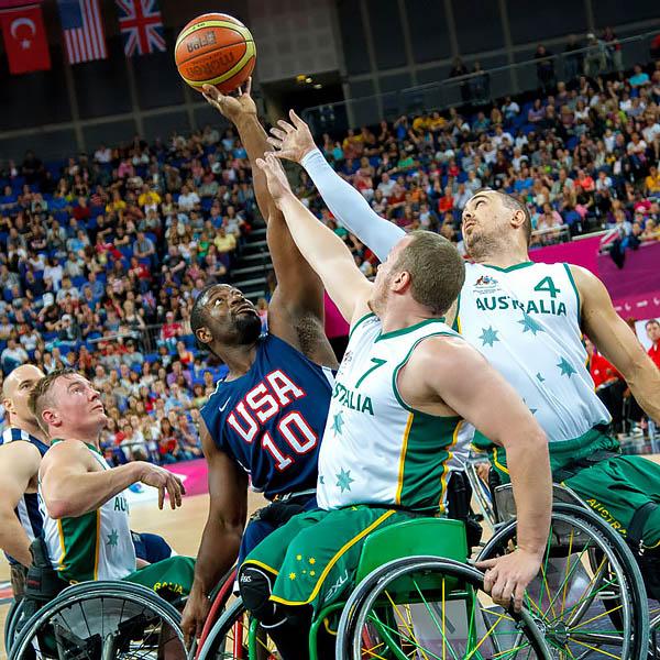 USA v Australia Semi Final