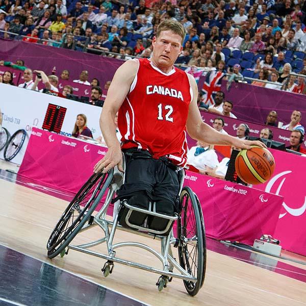 Patrick Anderson of Canada in final v Australia