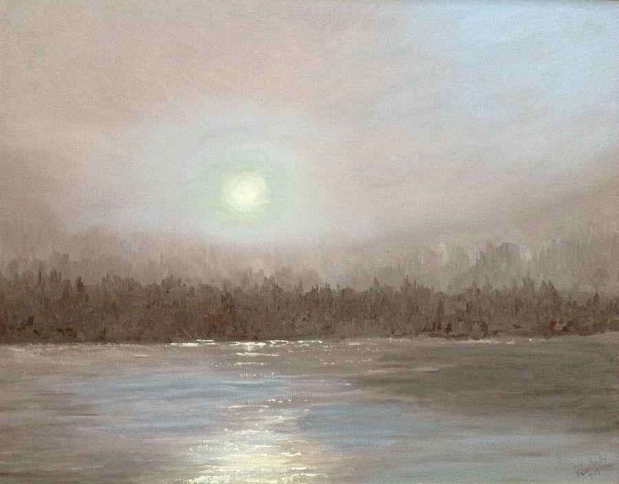 Dawn the river Skeena