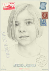 MY  DRAWING OF AURORA IN THE GUISE OF AN  ART CARD.