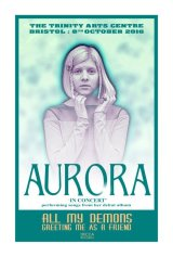 IMAGES OF  AURORA THE SINGER : AURORA AKSNES : UNOFFICIAL POSTER 1.