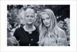 VIDA  ADAMCZEWSKI & HER GRANDMOTHER : MRS MIRANDA PARROTT