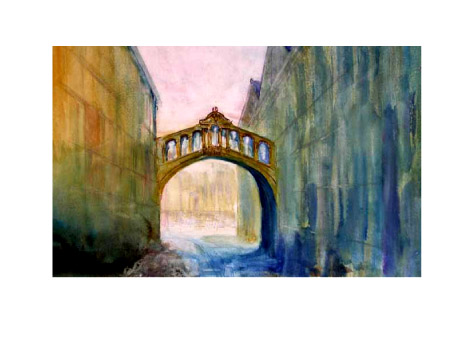 Oxford's 'Bridge of Sighs' (sold)