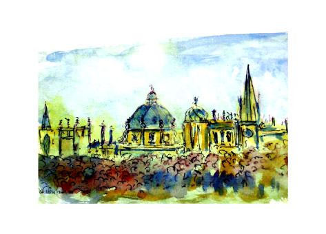 Oxford - city of aspiring dreams (sold)