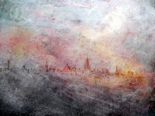 Oxford, Evening (Sold)