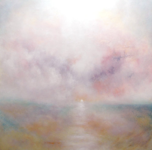 Evening Sun, Sand, Sea and Sky (sold)