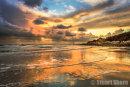Stormy Sunset at Reeth Bay