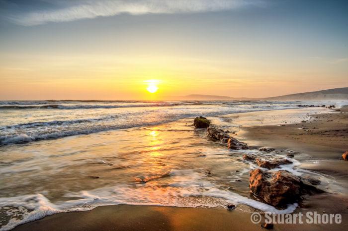 Compton Sunset