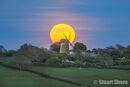 Moonrise over Bembridge Windmill