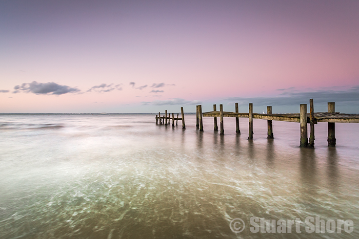Sunset at the Old Jetty