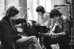 Pink Floyd recording Abbey Road Studios