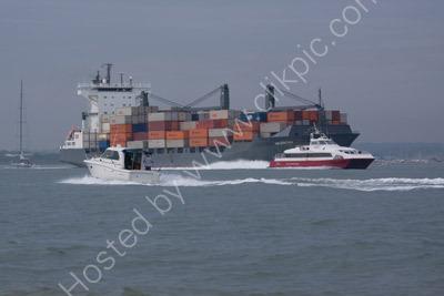 Traffic on Southampton Water