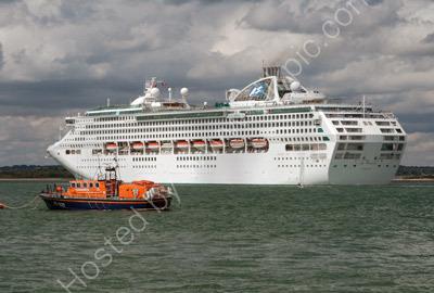 Sae Princess & Calshot Lifeboat