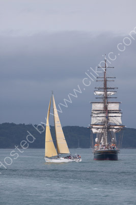 Stadt Amsterdam off Cowes