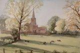 215 Barnwell Watercolour 52 x 34